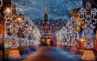 Різдвяні ярмарки в Санкт-Петербурзі 2018-2019 | новорічні