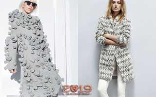 В'язана мода 2018-2019 роки | тренди, фото, модне в'язання