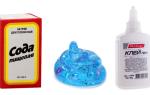 Лизун з клею ПВА і соди в домашніх умовах: 10 рецептів