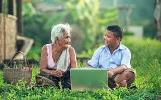 Смішні сценки про бабусь, дідусів, онуків на сайті Острівець позитиву