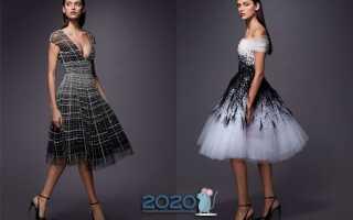 Коктейльні сукні 2019-2020 | модні, фото, новинки