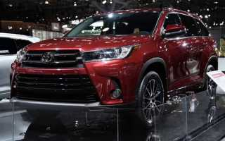 Toyota Highlander 2019 | фото, характеристики, ціна