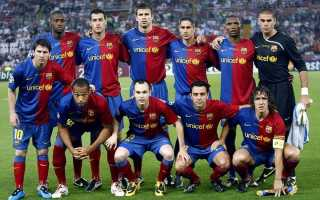 Склад Барселони на сезон 2018-2019 року