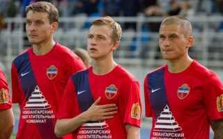 Нова форма ФК Єнісей на сезон 2018-2019 | фото