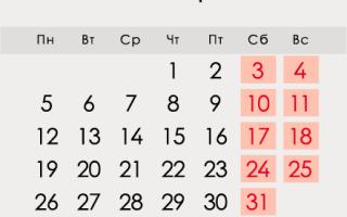 Жовтень 2020 року в Росії: календар, свята, вихідні, як відпочиваємо