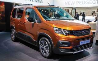Peugeot Rifter (Новий Пежо Партнер Типи) 2018-2019 | фото, ціна
