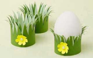 Підставки Під Яйця На Великдень Своїми Руками (5 Майстер-Класів)