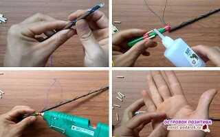 13 ідей як зробити чарівну паличку (Гаррі Поттера, в майнкрафт, справжню з магією) своїми руками