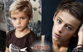 Модні стрижки для хлопчиків в 2019 році | фото, підліткові
