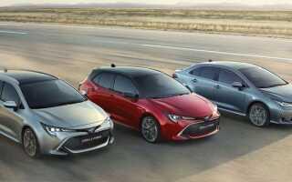 Toyota Corolla 2019 | фото, ціна, характеристика