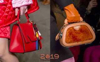 Модні сумки осінь-зима 2018-2019   жіночі, фото