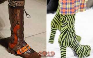 Модне взуття осінь-зима 2018-2019 | тенденції в моді, фото