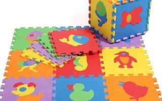 Килимки пазли — відмінний подарунок для дітей