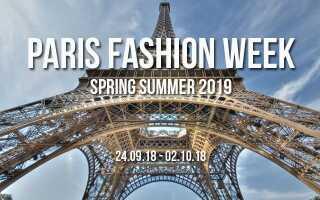 Показ мод у Парижі весна-літо 2018-2019 року | тиждень моди, відео