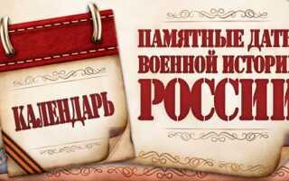 Дні військової слави Росії в 2020 році | дати