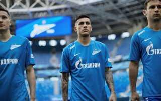 Склад ФК Зеніт 2018-2019 роки | новий, список