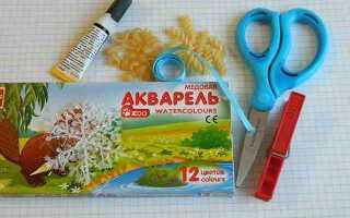 3 вироби з макаронів на Новий рік (для будинку, дитячого садка) своїми руками