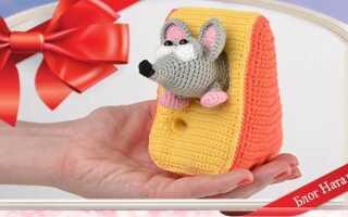 В'язані щурики (мишки) гачком зі схемами і описами. Майстер-класи іграшок амігурумі для початківців