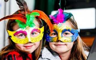 Новорічні маски до 2019 року своїми руками | шаблони, на Новий рік