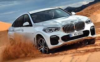 Новий BMW X6 2019 | фото, ціна, характеристика