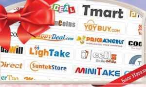 Китайські інтернет магазини з безкоштовною доставкою в Росію