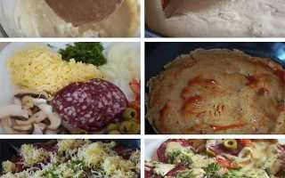 Швидка піца за 10 хвилин на сковороді: 7 рецептів в домашніх умовах