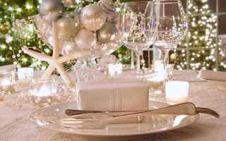 Сервіровка новорічного столу до Нового 2020 році: оформлення, як накрити, фото