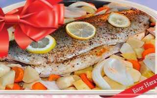 Риба в духовці з овочами: 5 рецептів