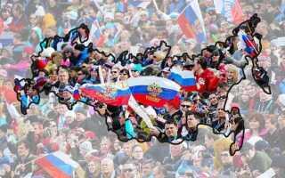 Населення Росії на 2019 год | чисельність, скільки становить