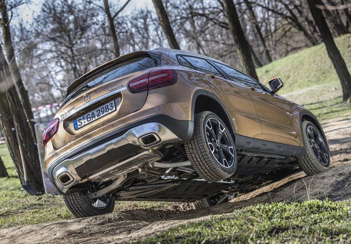 Днище Mercedes-Benz GLA 2019