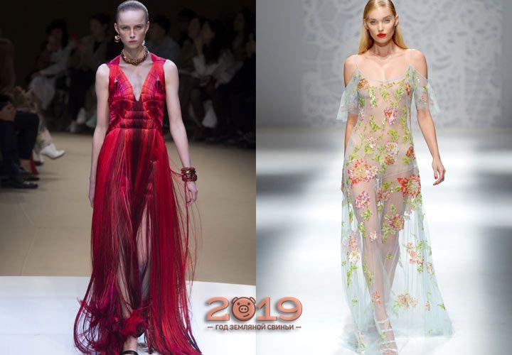 Модні вечірні сукні 2019  17180f7daed08