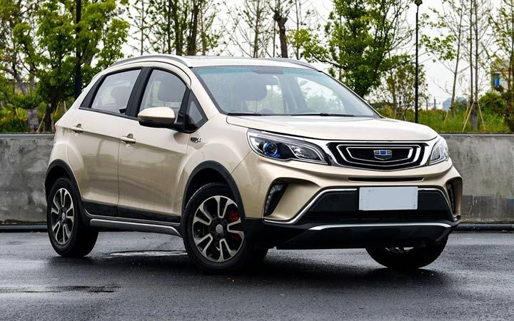 Geely Vision X3 2018-2019 роки
