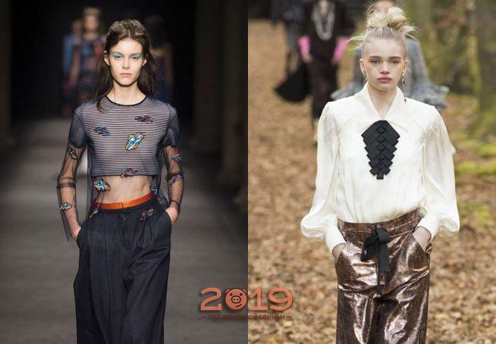 Модні блузки осінь-зима 2018-2019  трендові моделі 4853e7ee07739