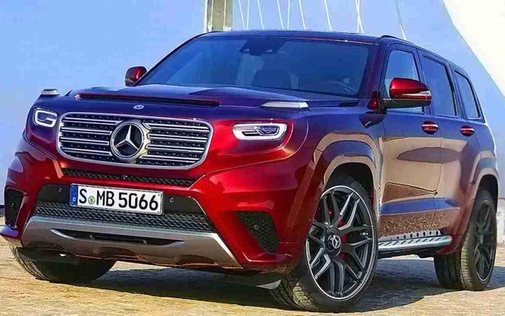 Mercedes-Benz GLB 2020 року